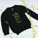 'Curly Hair Don't Care' Kids Sweatshirt