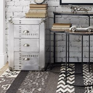 Industrial Style Riveted Chest Drawers - chests of drawers
