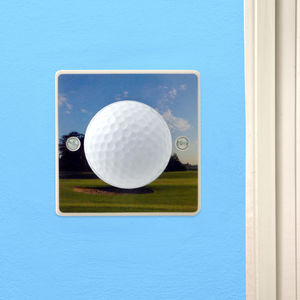 Golf Gift Light Switch - lighting accessories