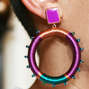 Leylla Statement Earrings