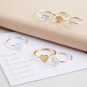 Geometric Stacking Rings - rings