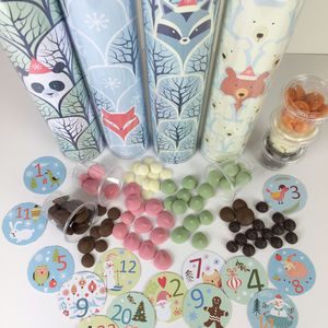 Lots Of Pots Of Chocolate Drops Forest Advent Calendar - advent calendars