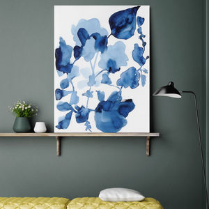 Calm Bloom, Canvas Art - modern & abstract
