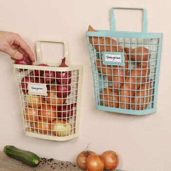 Homegrown Wall Mounted Kitchen Vegetable Rack