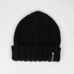 Alpaca And Merino Wool Beanie Black