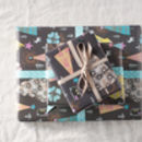 matching wrapping paper sheets that come folded (you can also order larger quantities in my shop, rolled if preferred)