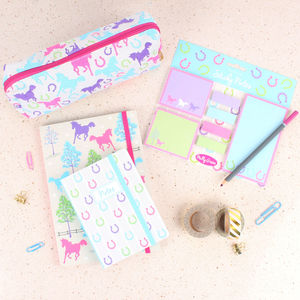 Playful Ponies Stationery Gift Set
