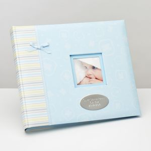 Baby Boy Photo And Keepsake Album