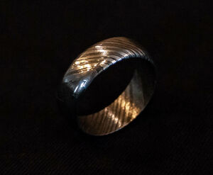 Pattern Welded / Damascus Ring Making