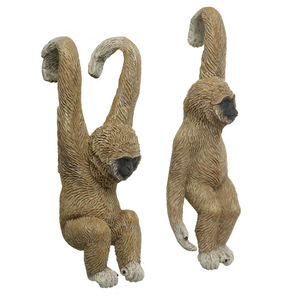 Pair Of Gibbon Pothangers - art & decorations