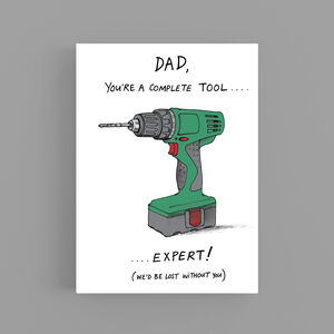 Complete Tool Fathers Day Card