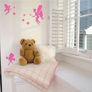 Large Fairy Wall Sticker Set - baby's room
