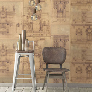Garnier Wallpaper Set Of Three Rolls - home decorating