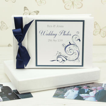 Personalised Oxford Wedding Photo Album