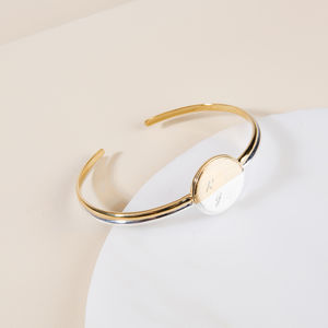 My Sun, My Moon Bangle - gifts for her