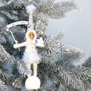 Fairy Style Christmas Decoration Let It Snow