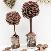 Personalised Chocolate Button Tree - food & drink
