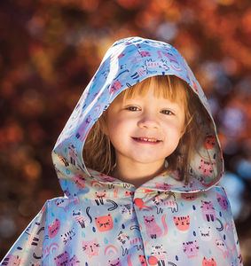 Girls Rain Poncho - clothing