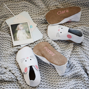 Sibling Set Sister Mouse Slippers - 'mummy and me' gifts