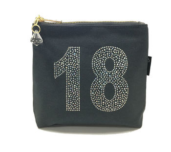 Rhinestone 18th Birthday Bag
