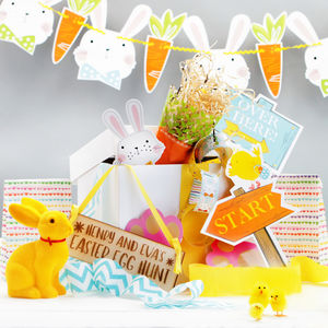 Chocolate Spring Hunt Party Bundle