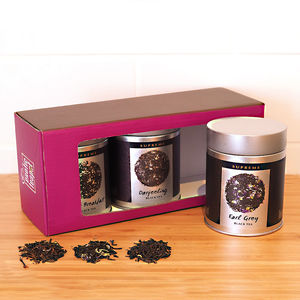 Black Tea Triple Selection Gift Box - teas, coffees & infusions