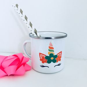 Personalised Rainbow Unicorn Mug
