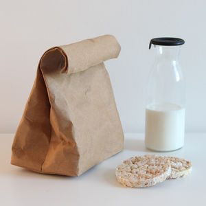 Washable Paper Lunch Bag - lunch boxes & bags