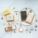 'Live The Little Things Box' Letterbox Gift Set