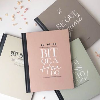 Two For £20 Hen And Guest Wedding Book