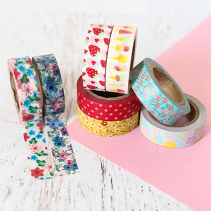 Summer Picnic Washi Tape - summer sale