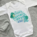Mother's Day Baby Dinosaur Vest