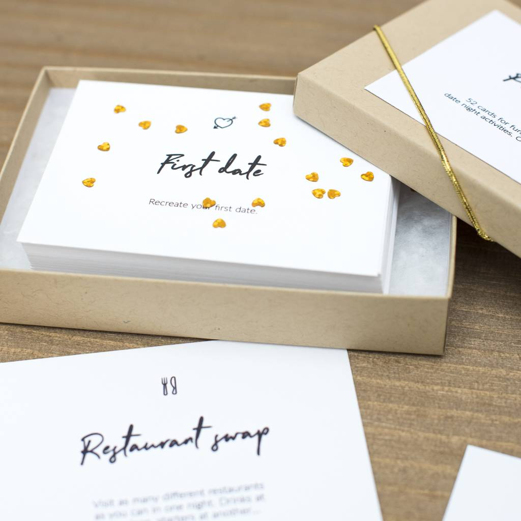 52 date night cards by thispaperbook | notonthehighstreet.com