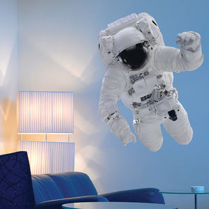 Astronaut Wall Sticker - decorative accessories