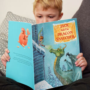 Personalised 'The Dragon Snatcher' Story Book