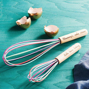 Personalised Whisk Set - housewarming gifts