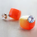 Bright Two Way Earrings