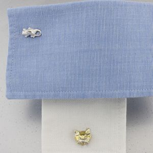 Cat And Mouse Cufflinks