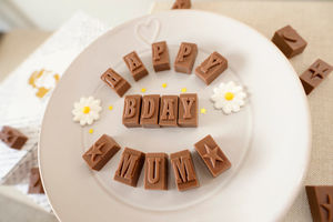 Personalised Chocolate Card In A Medium Box - food gifts