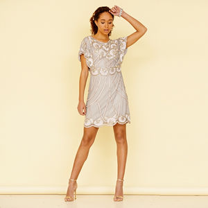 Afua Sequin Flapper Dress - new in fashion