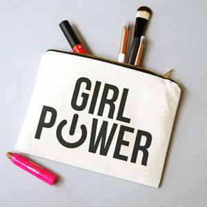 'Girl Power' Make Up Bag