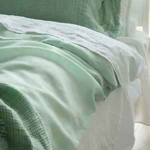 Stone Washed Bed Linen Flat Sheet - bed, bath & table linen