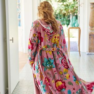 Pip Studio Floral Fantasy Bathrobe - women's fashion