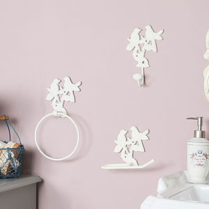 Ivory Garden Birds Bathroom Accessories Collection
