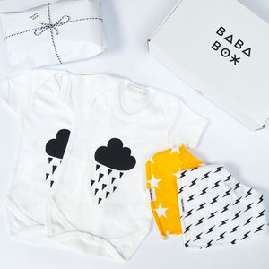 Twin Baby Gift Box - babygrows