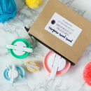 Pom Pom Maker Set Of Four