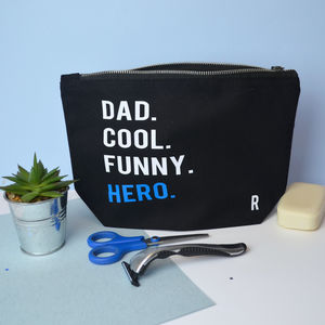 Personalised Hero Washbag