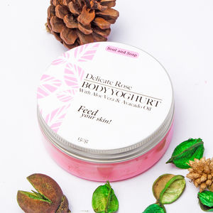 Delicate Rose Body Yoghurt