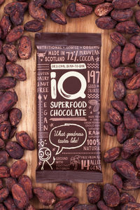 Bean To Bar Organic Raw Chocolate Bar
