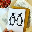 Penguin Pair Card